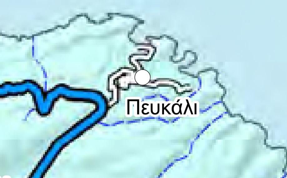 Χαρτογραφική απεικόνιση αρμοδιοτήτων συντήρησης οδικού δικτύου.