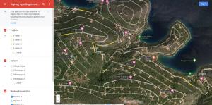 χάρτης προβλημάτων οικισμού αμόνι